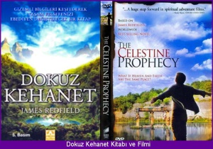 1. Dokuz Kehanet kitap ve filmi Celestine prophecy book cover and film poster[1]