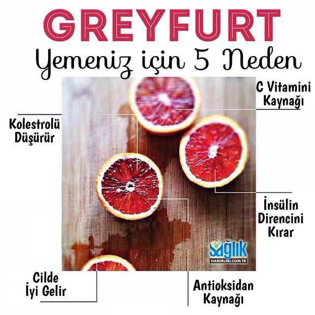 Greyfurt Diyeti