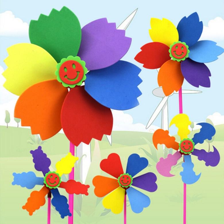 1-Parça-Altı-Renk-DIY-Fırıldak-Oyuncak-Eğitici-Klasik-Bahçe-Fırıldak-EVA-Sünger-El-Yapımı-Oyuncak[1]