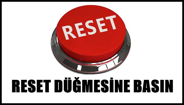 anette inselberg bugün reset düğmesine basın