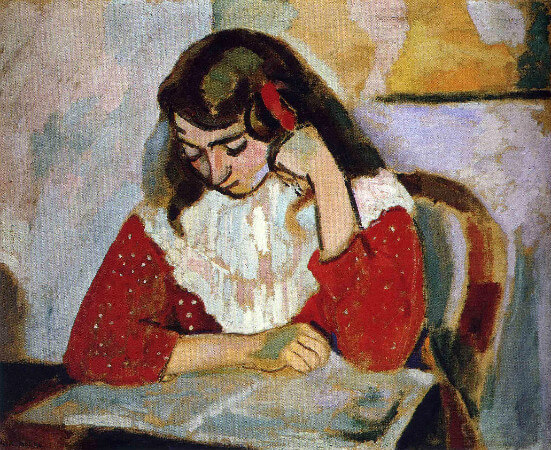 Henri-Matisse-The-Reader-Marguerite-Matisse-1906[1]